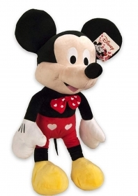 PLUSH WALT DISNEY MICKEY MICKEY mouse HEARTS - 27 cm