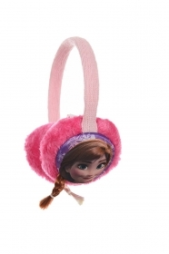 Earmuffs Warms the ears DISNEY FROZEN Elsa and Anna pink