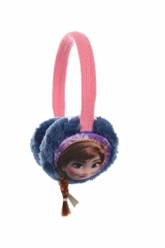 Earmuffs Warms the ears DISNEY FROZEN Elsa and Anna blue