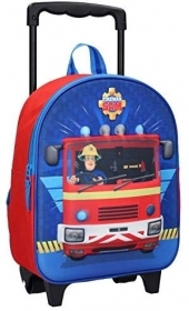 BACKPACK Holdall TROLLEY ASYLUM 3D - FIREMAN SAM THE FIREMAN