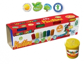 PLAYDOUGH with NATURAL Shapes - 4 COLORS 40 g