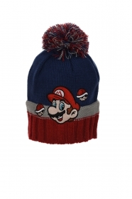HAT With POM poms - MARIO BROS