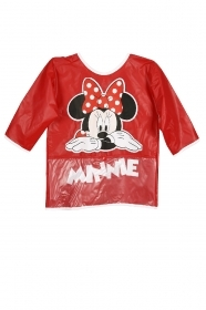 APRON FOR PAINTING, PVC - DISNEY MINNIE