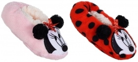 SLIPPERS CLOSED, non-SLIP PLUSH DISNEY MINNIE FROM nr 25 to nr 32