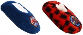 SLIPPERS CLOSED, non-SLIP PLUSH MARVEL SPIDERMAN FROM nr 25 to nr 36