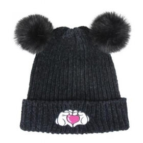 HAT With pom-POM - DISNEY MINNIE heart