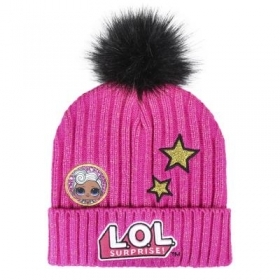 HAT With POM poms - LOL SURPRISE to