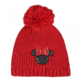 HAT With pom-POM - DISNEY-MINNIE c