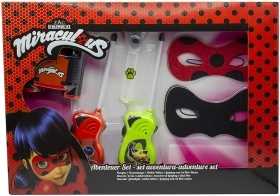 SET ADVENTURE, MIRACULOUS LADY BUG and Chatnoir