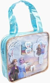 Fantastic set of Accessories for Hair with Handbag Disney FROZEN 2 - Elsa and Anna