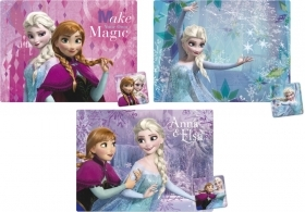 3 TABLE PLACEMATS with COASTER - DISNEY FROZEN - ELSA and ANNA