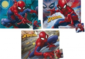 3 TABLE PLACEMATS with COASTER - MARVEL SPIDERMAN