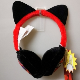 Earmuffs Warms the ears MIRACULOUS LADY BUG AND the CHAT NOIR in