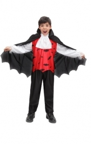 DRESS COSTUME CARNIVAL Mask / HALLOWEEN COSTUME BABY - COUNT DRACULA