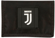 Wallet coin Purse Opening is velcro JUVENTUS Black and white