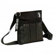 Shoulder strap Shoulder Bag JUVENTUS Black and white - the Official and Original