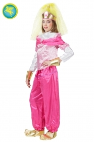 DRESS COSTUME CARNIVAL Mask Girl - ODALISQUE PINK