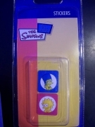 Charms Stickers per cellulare Simpsons LISA e MARGE