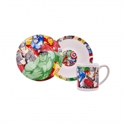 SET JELLY in the POTTERY - Dishes and Cup MARVEL AVENGERS