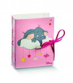 10 Boxes door Confetti BOOK DISNEY DUMBO pink