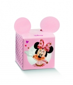 10 Boxes Cube brings Confetti DISNEY MINNIE Ballerina