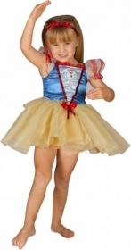 DRESS COSTUME CARNIVAL, DISNEY snow white, 1-2 and 2-3 Years