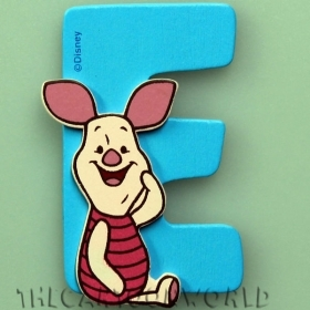 Letters in Wood Adhesive DISNEY WINNIE-THE-POOH - AND
