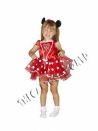 VESTITO COSTUME CARNEVALE WALT DISNEY MINNIE Ballerina 3 4 anni - 104 cm e22360384b79